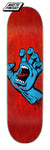 8.0 Santa Cruz - Red Screaming Hand Deck