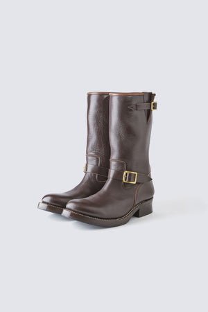 BUILT TO ORDER - AB-01 STEERHIDE ENGINEER BOOTS