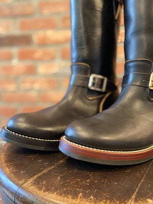 BUILT TO ORDER - AB-02CH HORSEHIDE CAP TOE LACE-UP BOOTS CUSTOM
