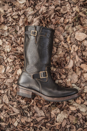 AB-01 STEERHIDE ENGINEER BOOTS