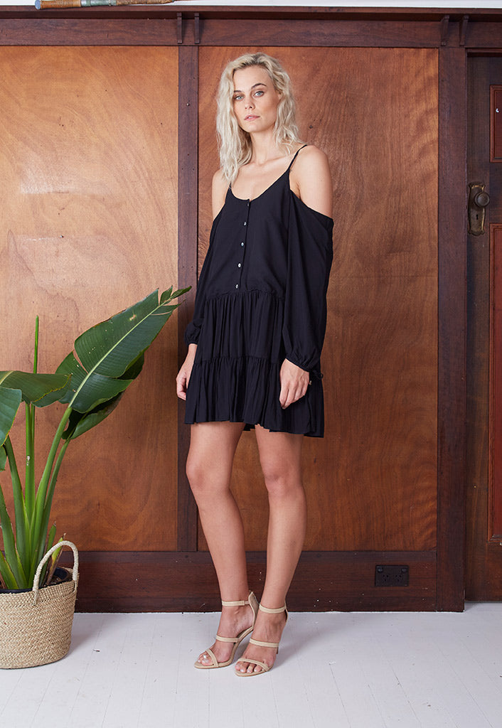 Cold Shoulder Dress
