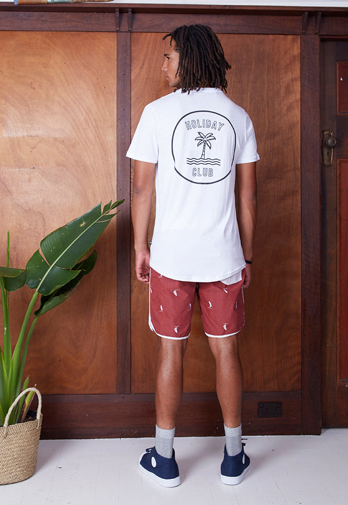 Regular Joe Palm Print SS