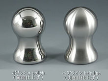 Load image into Gallery viewer, Shift knob for manual cars_Heavy weight Type482 <Stainless steel> (Hairline) M10xp1.25