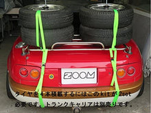 Load image into Gallery viewer, Optional parts for Eunos Mazda NA, NB, NC, ND Roadster [2 tire stacking kit with wheels] (for trunk carrier)