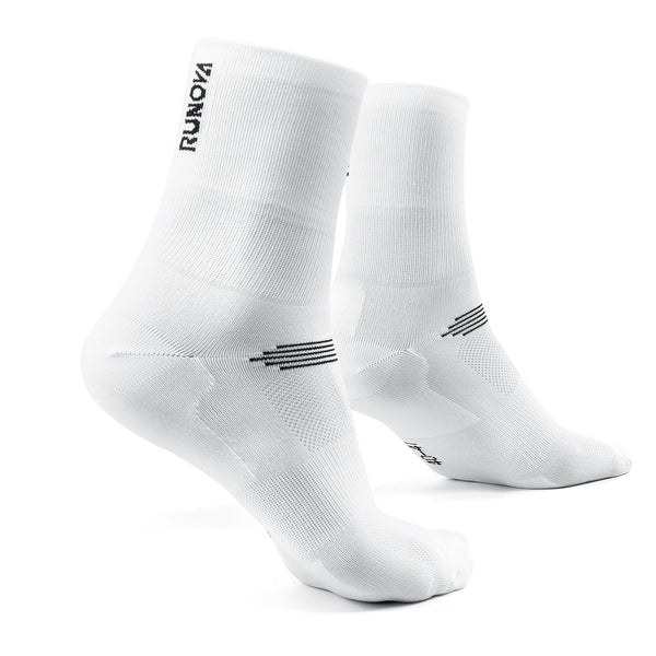 1er Pack | Performance Laufsocken | weiß