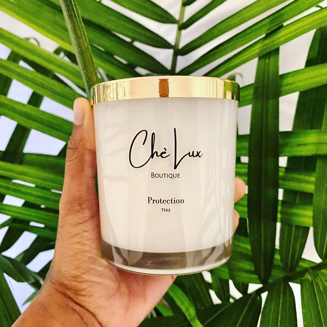 high quality meditation candles coconut soy blend Top Note - Lemon, Green Melon Mid Note - Lily, Jasmine Base Note - Raspberry, Oakmoss, Musk with white glass jar and gold metal lid