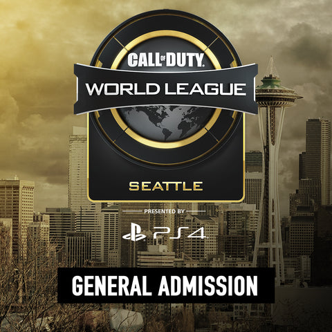 Call of Duty World League Seattle - General Admission
