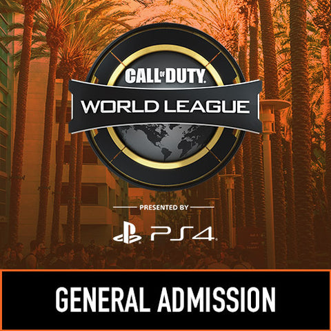 Call of Duty World League Anaheim - General Admission