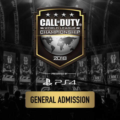 Call of Duty World League Championship 2018 - General Admission