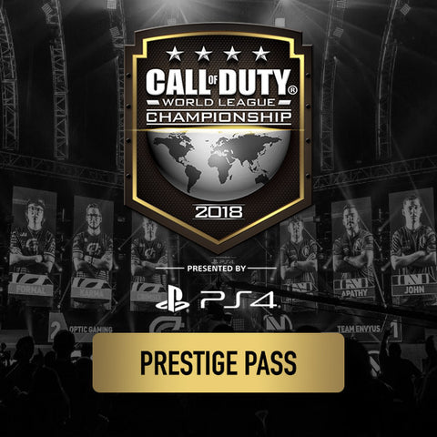 Call of Duty World League Championship 2018 - Prestige Pass