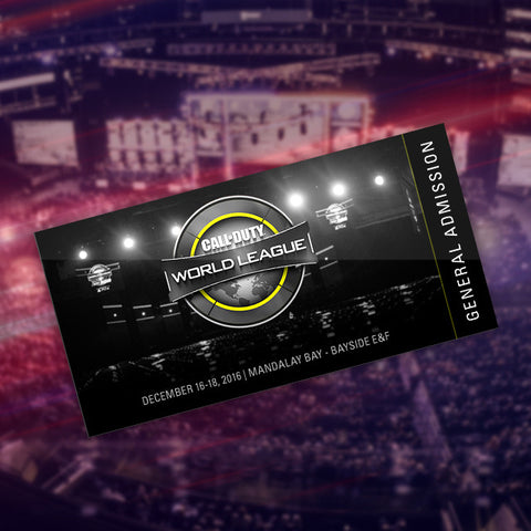 Call of Duty World League North American Regional Open - General Admission