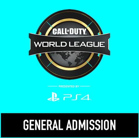 Call of Duty World League Finals - General Admission