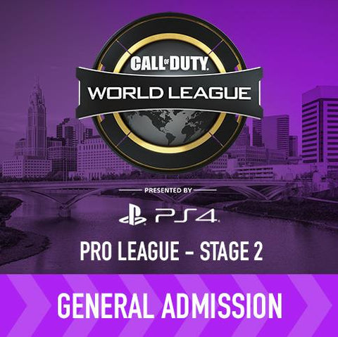 CWL Pro League Playoffs Stage 2 - General Admission
