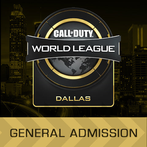 Call of Duty World League Dallas - General Admission