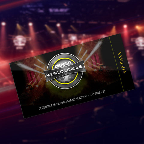 Call of Duty World League North American Regional Open - VIP