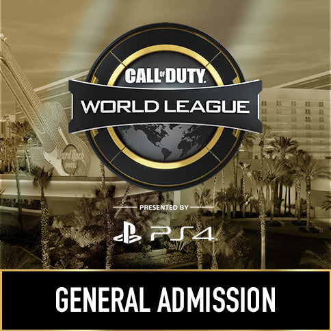 Call of Duty World League Las Vegas - General Admission