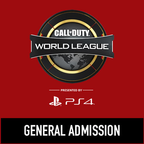 Call of Duty World League Fort Worth - General Admission