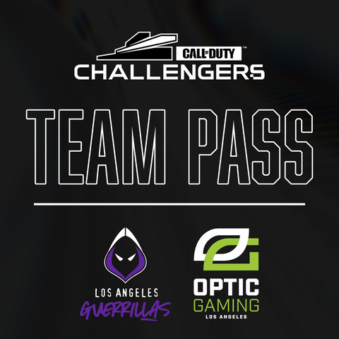 Call of Duty Challengers Los Angeles Open - Team Pass