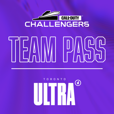 Call of Duty Challengers Toronto Ultra Open - Team Pass