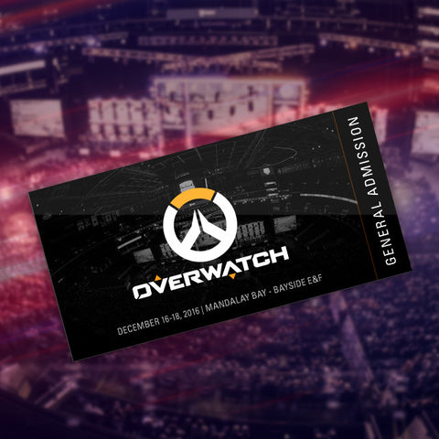 Overwatch Invitational - General Admission