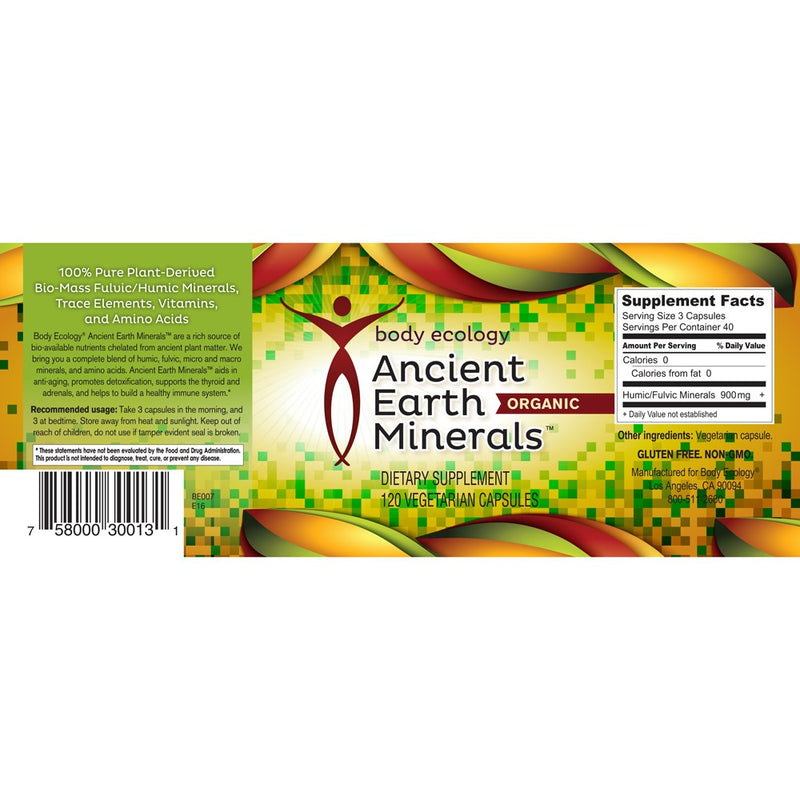 Ancient Earth Minerals - Capsules