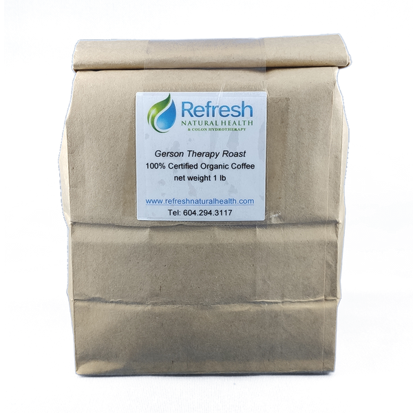 Therapy Roast Coffee 1 LB Bag (For Enema Use)