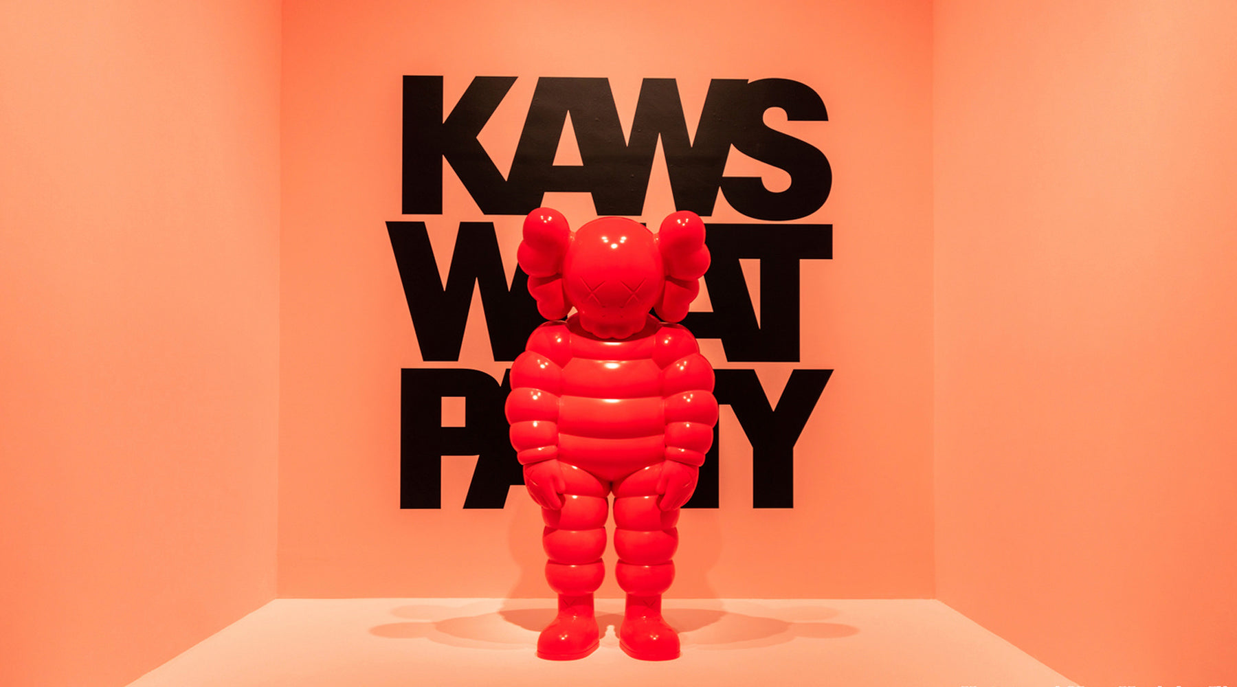 KAWS: WHAT PARTY - Exhibition, Book & Companion