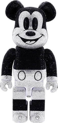 Crystal Decorate Mickey Mouse Bearbrick 400%