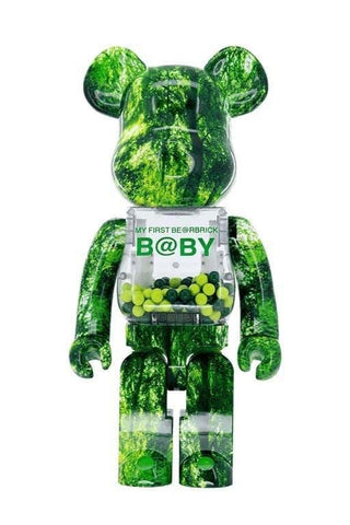 My First Bearbrick Baby Forest Green Ver. 1000%