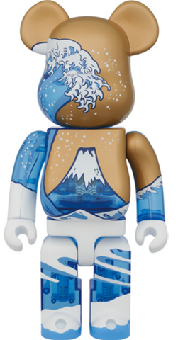 Medicom Toy Bearbrick 400 Great Wave on Mont Fuji Kaneda Toys