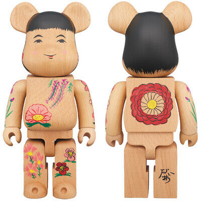bearbrick kokeshi doll kaneda toys japanese culture