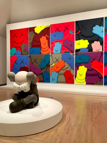 Kaws What Party Brooklyn Museum Exhibition Kaneda Toys