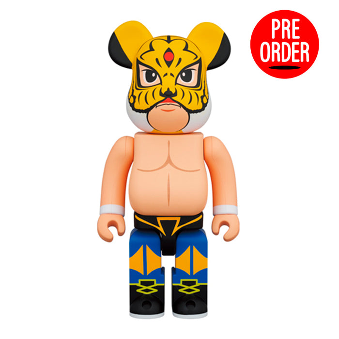 Bearbrick Tiger Mask 400%