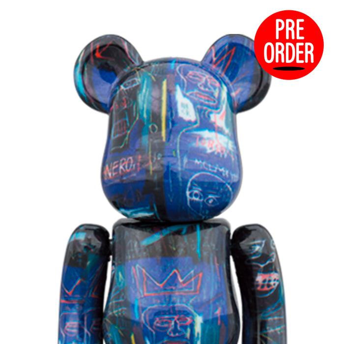 Bearbrick 'Jean Michel Basquiat #7' 1000%