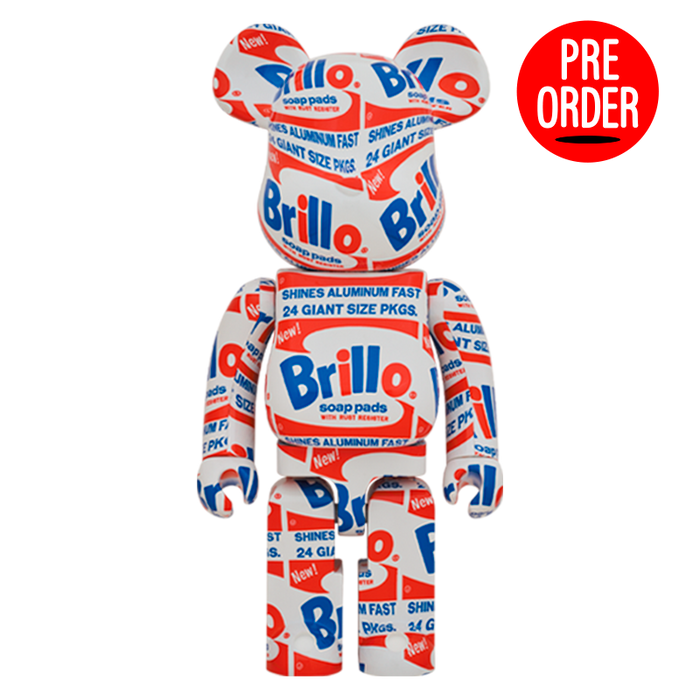 Bearbrick 'Andy Warhol - Brillo' 1000%