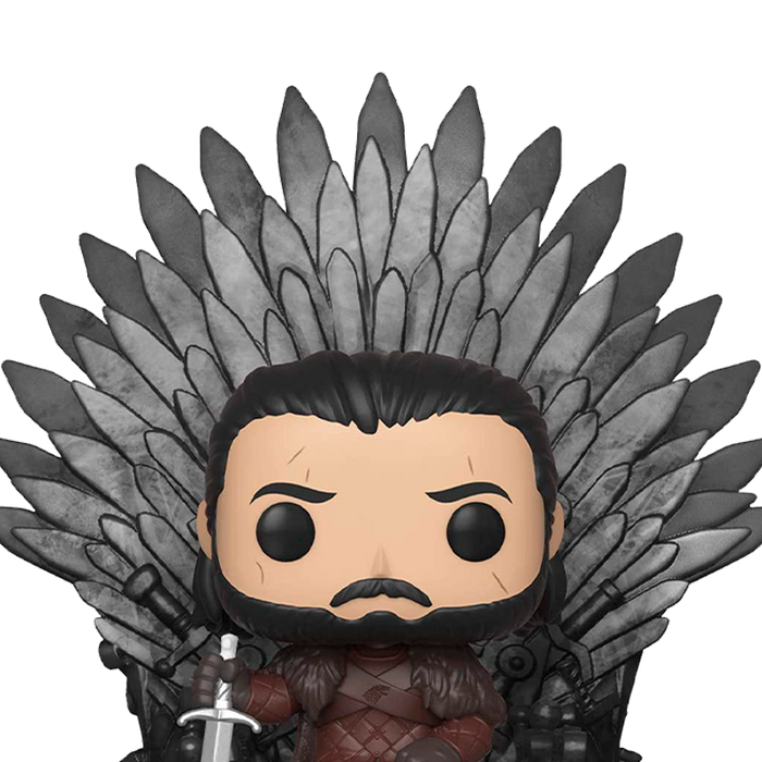 Funko Pop! Deluxe: Game of Thrones - Jon Snow Sitting on Iron Throne