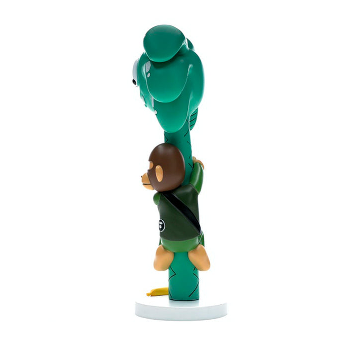 Steven Harrington x Aape x ToyQube 12.7CM Figure Green