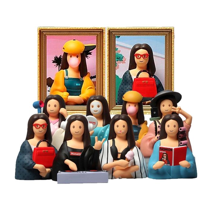 ZCWO 'Mona Lisa' - Mini Figures BLINDBOX
