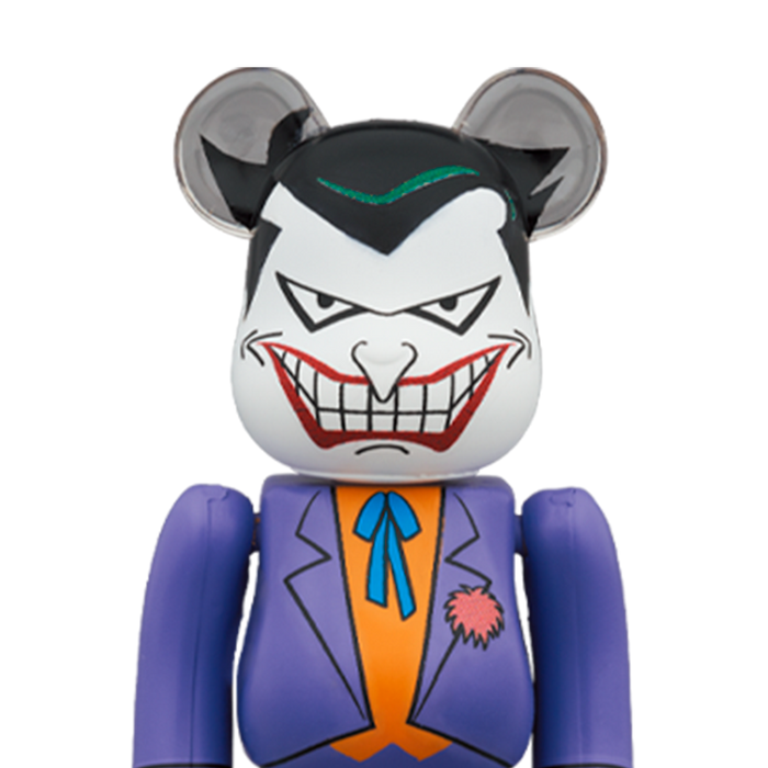 Bearbrick 'The Joker - Batman The animated Series' 100% & 400%