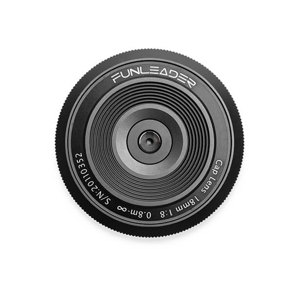 CAPLENS 18mm f/8.0 for Mirrorless Camera front view image