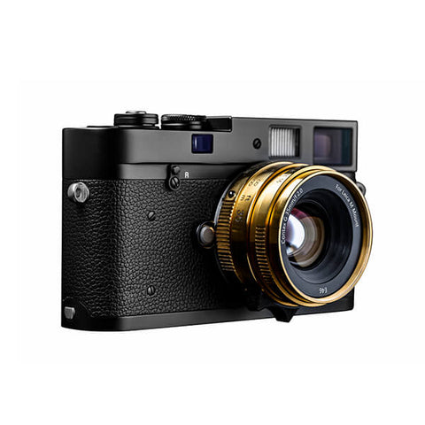 Converted Contax G35 f/2 for Leica M-gold