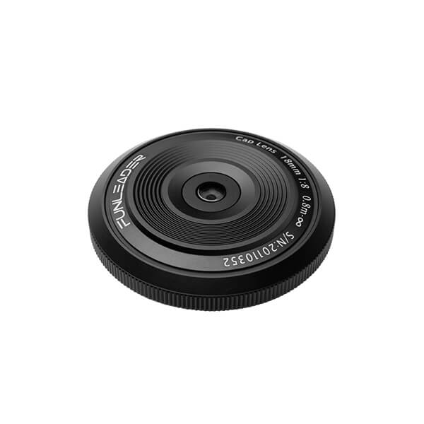 CAPLENS 18mm f/8.0 for Mirrorless Camera top view image