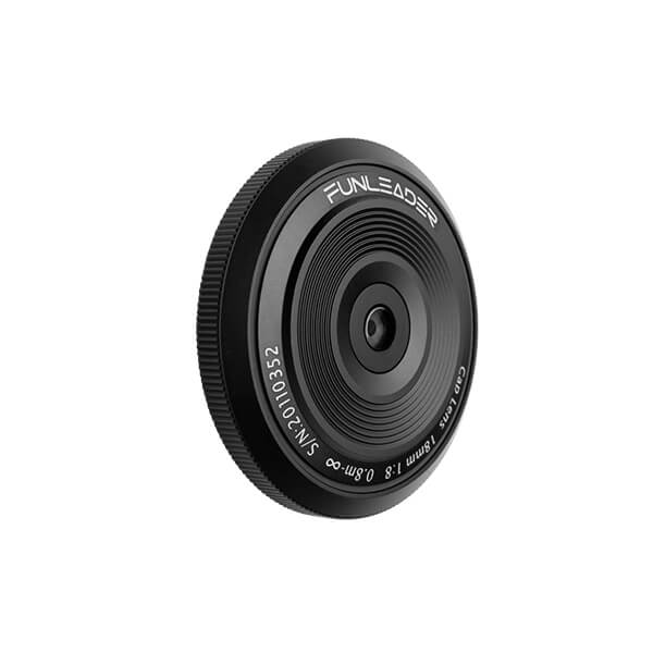 CAPLENS 18mm f/8.0 for Mirrorless Camera side view image