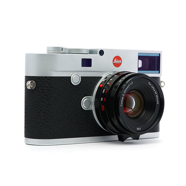 Converted Contax G35 f/2 for Leica M-black