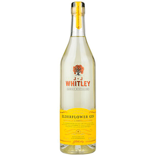 JJ Whitley Elderflower Gin - Ginuniverset