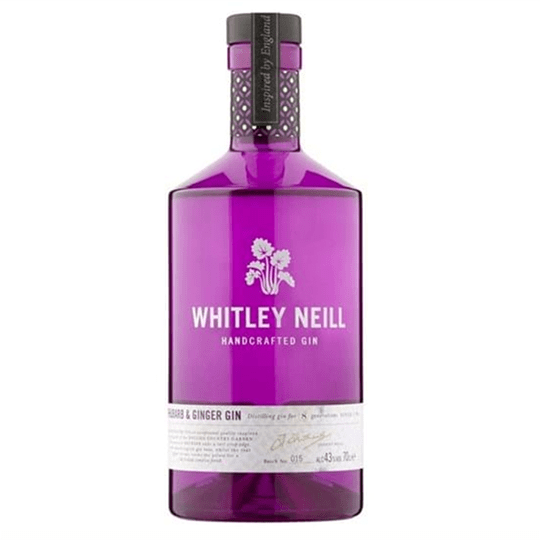 Whitley Neill Rhubarb & Ginger Gin - Ginuniverset