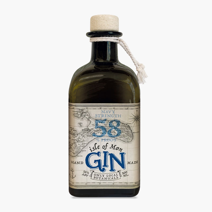 Isle of Møn Navy Strength, 10 cl.