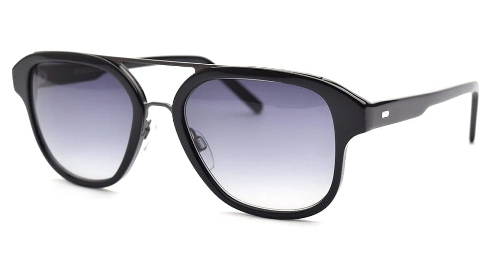 Cutler & Gross-1228-B Black Gray Gradient