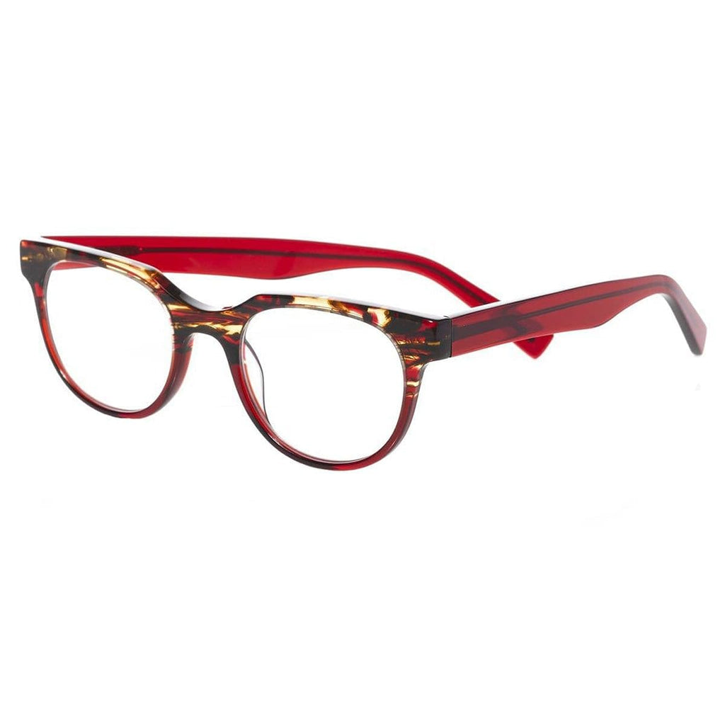 Eyebobs-2313 Phone It In-01 Red Tortoise Red Crystal +3.00
