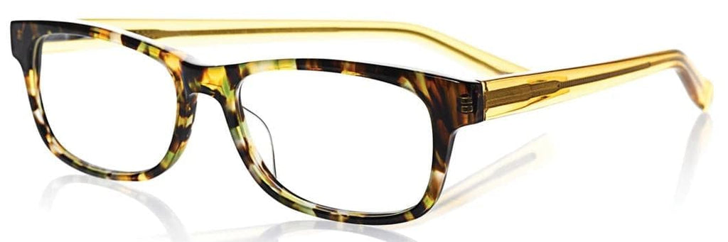 Eyebobs-2230 Bob Frapples-11 Spotty Green Tortoise Orange Crystal +2.00